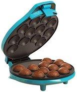 BELLA 13547 Cake Pop & Donut Hole Maker, Turquoise - $49.49