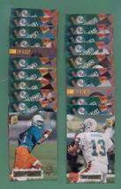 1994 Stadium Club Miami Dolphins Football Set - $4.00