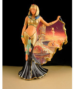 Cleopatra Statue - Queen of the Nile figurine - Limited edition - Bradfo... - $125.00