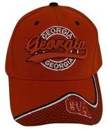 Georgia Men's Bent Brim Adjustable Baseball Cap Hat with Netting & GA on... - $9.95