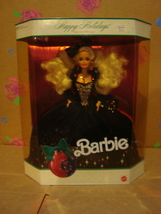 1991 Happy Holidays Holiday Barbie NRFB by Mattel - $75.00