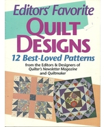Editors Favorite Quilt Designs Pattern Booklet - $9.98
