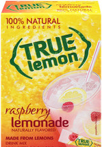 True Lemon Raspberry Lemonade Drink Mix Packets... - $1.29