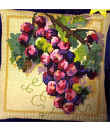Rossi Large Count Wool Cross Stitch Kit Grapes on Vine - $39.99