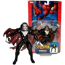 ToyBiz Year 2004 Marvel Spider-Man Series 6 Inch Tall Figure - MORBIUS with Fang - $54.99