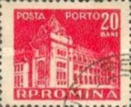 Romania (used postage due stamp) 1957 National Post & Telecommunications... - $1.99