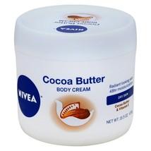 Nivea Cocoa Butter Body Cream 15.5 Oz. Jar - $7.99