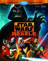 Star Wars Rebels: The Complete Season 2 (Blu-ray Disc, 2016, 3-Disc Set)