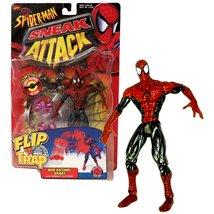Toy Biz Year 1998 Marvel Comics Spider-Man Sneak Attack Flip 'N Trap 6 I... - $44.99