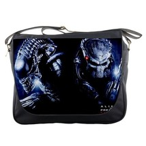 Messenger Bag Alien VS Predator Thriller Action Movie Horror Gaming Fantasy Anim - $30.00