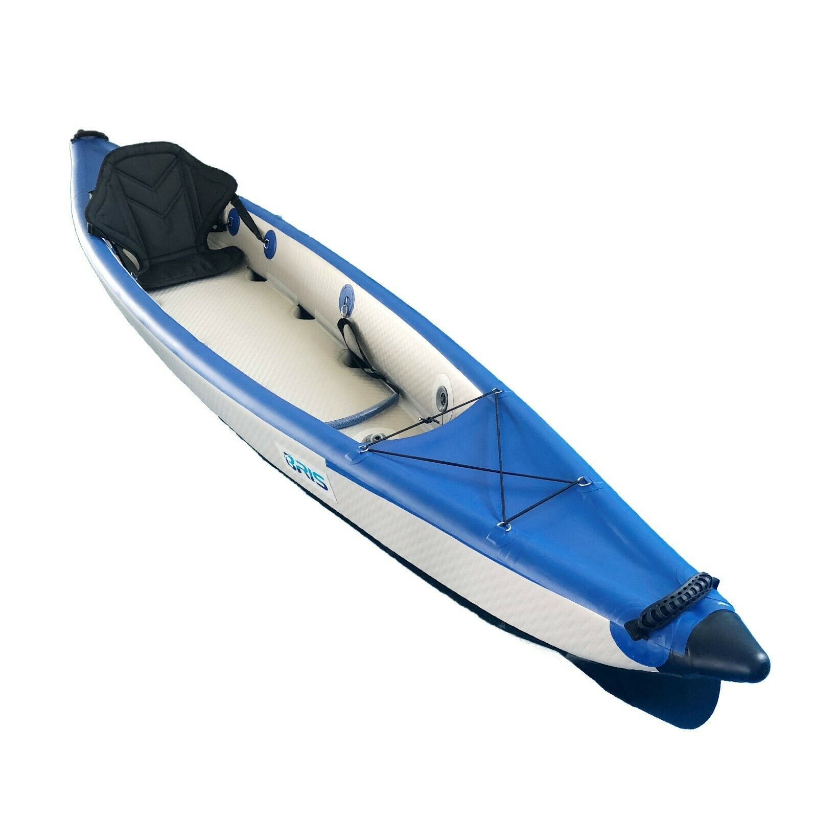 BRIS 13Ft Drop Stitch Inflatable Kayak Canoe Boat One Person