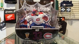 "2017-18 NHL Montreal Canadiens Rare Vintage Patrick Roy 6"" Figure /950 - $33.31"