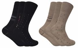 3 Pack Mens Non Binding Loose Top Antibacterial Anti Sweat Bamboo Dress Socks - $9.99