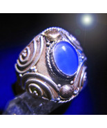 HAUNTED RING OFFER ONLY BLUE MOON LUCK ATTRACTION HIGH MAGICK 925 7 SCHOLAR - $88,007.77