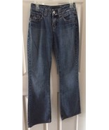 Women's Silver Jeans Suki Boot Cut Jeans Distressed Jeans Dark Wash Size... - $13.96