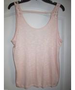 Chloe K Soft Sheer Camisole Tank Top Precocious L - $8.13