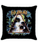 Def Leppard Hysteria Black Cushion Cover Throw Pillow Case - $15.00