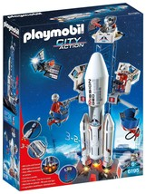 Playmobil Space Rocket with Launch Site Buildin... - $69.83