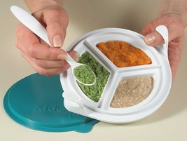 KIDCO F300 FEEDING DISH W/SPOON Beds, Bedding, Furniture, Sheets - $8.90