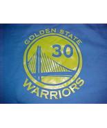 Gildan NBA Golden State Warriors Stephen Curry 30 Blue Heavy Sweatshirt 5XL - $39.59
