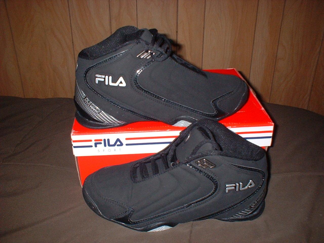 881e312a8590 Men s Fila RIMSHOT Basketball Shoes BLACK and similar items