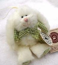 """Boyds Bears """"Lana Hoppennibble"""" #561932-  4"""" Bunny Ornament- NWT- 2001 -... - $12.99"""