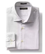 Banana Republic Men's Camden-Fit  Micro-Stripe 120s Supima Cotton Shirt ... - £37.02 GBP