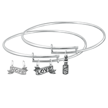 Bangle HOPE LOVE - $32.99