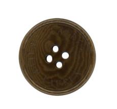 "Ralph Lauren plastic Coffee Swirl Color Replacement Sleeve button .60"" - $2.92"