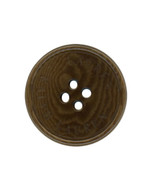Ralph Lauren plastic Brown Coffee Swirl Color Replacement Sleeve button ... - $3.83