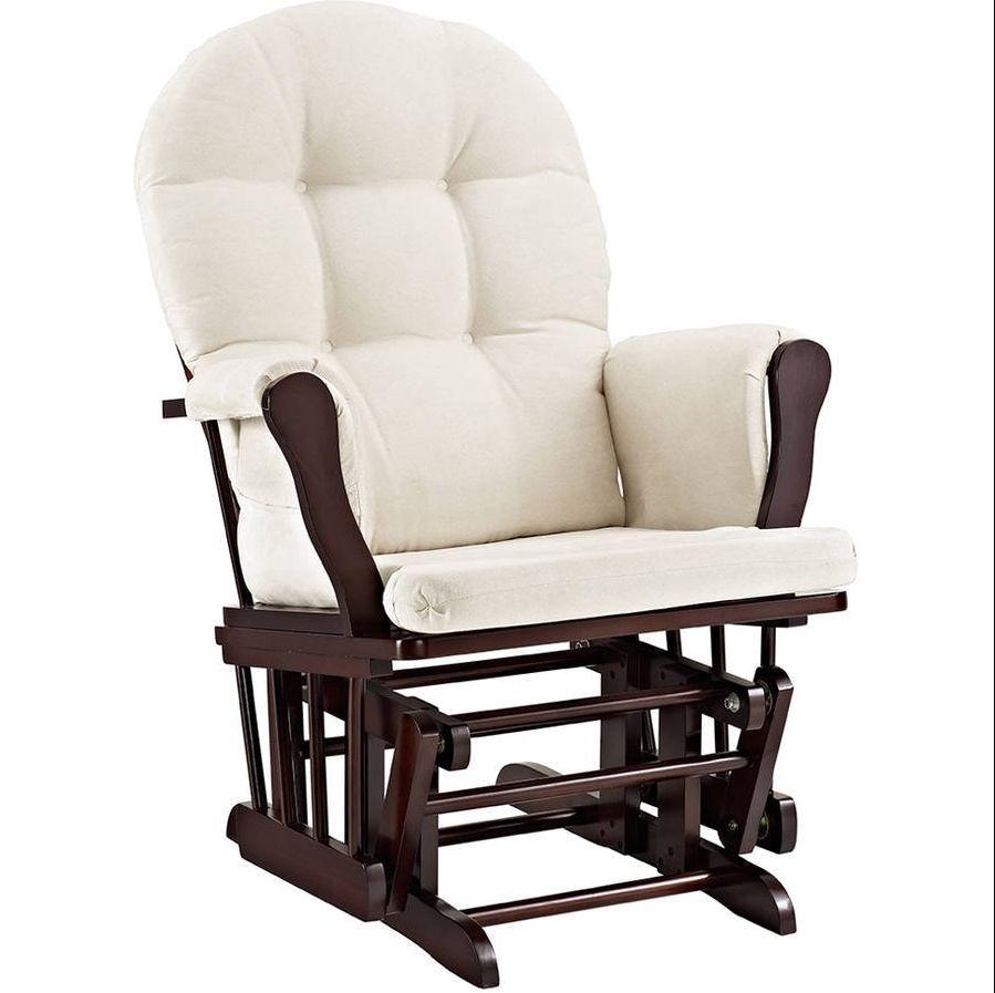 ... Ottoman Combo Rocker Nursery Set Espresso Baby Chair Sofa Crib Dresser