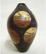 "Hopi 6.75"" Pottery Vase Olla Handbuilt | Handpainted by Fawn Navasie Garcia - $550.00"