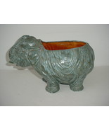 Cora Elephant Planter Vintage - $9.84