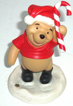 Disney Winnie Pooh Figurine Wishing you the Sweetest Holiday Ever Candy ... - $59.35