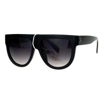 Designer Fashion Sunglasses Unisex Flat Top Hipster Trendy Shades UV400 - $9.85