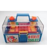 HTF 1970s Enco Bugs Bunny U Fix It Tool Kit w/ Tools Parts Carrying Case Toolbox - $66.78