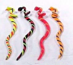 RARE NOS 2004 Department Dept 56 Halloween Snakes 4 Glass Snake Stir Sti... - £20.67 GBP