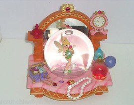 Walt Disney Tinker Bell Snowglobe Peter Pan Musical Jewels Perfume You Can Fly - $229.95
