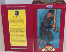 Lou Gehrig Cooperstown Starting Line Up Action Figure New York Yankees MLB - $59.95