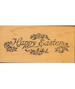 PSX Rubber Stamp E-989,  Saying Happy Easter S2 - $8.79