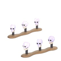 Department 56 Halloween Skull Lawn Lights (Set of 2) Retired - €13,50 EUR