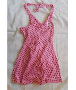 Penny M Cotton Girls Sundress size 4 NWT Pink w... - $14.80