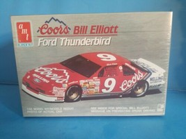 AMT ERTL #9 BILL ELLIOTT Coors Light Red Ford Thunderbird Model Kit Seal... - $18.69