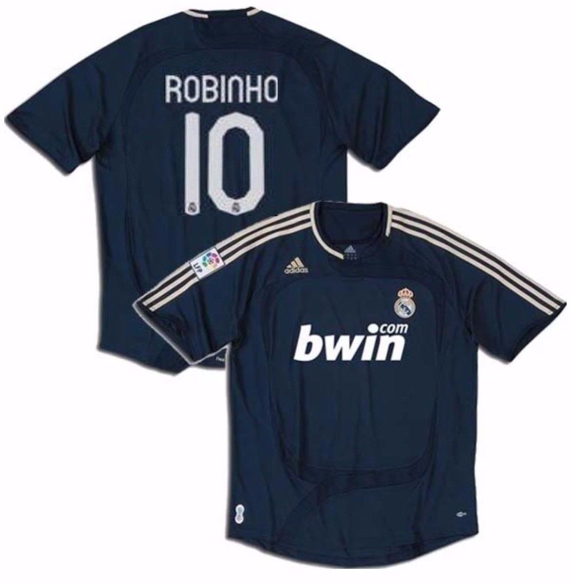 Adidas Robinho Real Madrid Away Jersey and similar items 1ee7e310fa97d