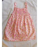 Park Bench Kids Girls Cotton Dress size 24 Mont... - $11.88