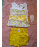 2 Piece Baby Girl Outfit Swiggles NWT Yellow an... - $14.80
