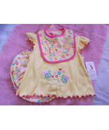 3 Piece Set Baby Girl Outfit Swiggles NWT 6/9 M... - $14.80