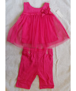 2 Piece Baby Girl Outfit Park Bench Kids NWT 12... - $9.90