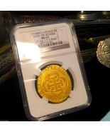 "MEXICO 1715 FLEET SHIPWRECK ""ROYAL LIKE"" 8 ESCUDOS 1714 ""DATE ON REVERSE... - $65,000.00"