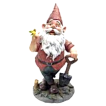 Birdy and Spader the Garden Gnome Statue - $65.95